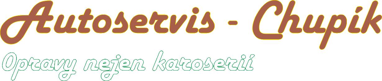 Autoservis - Chupík